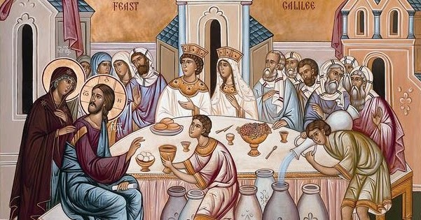 Wedding-feast-at-Cana-icon